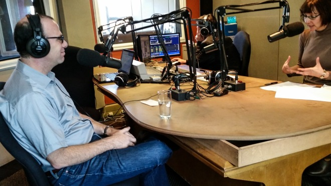Dr. Joel M. Hoffman talks about his books on 101.9FM in Johannesburg.